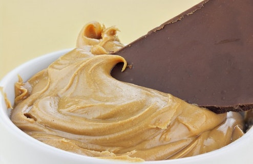 Chocolate and peanut butter
