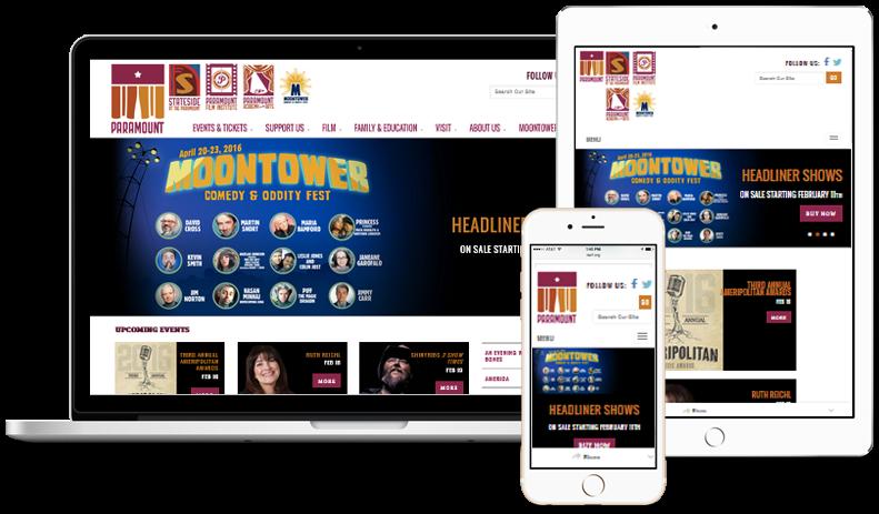 Paramount Homepage