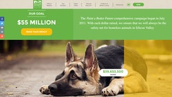 Humane Society of Silicon Valley homepage