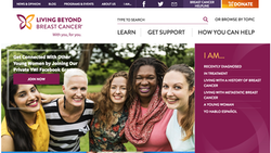 Living Beyond Breast Cancer Homepage