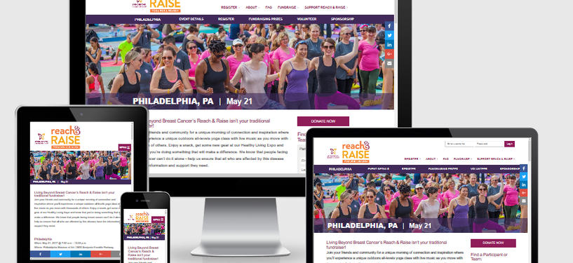 Living Beyond Breast Cancer Responsive Website