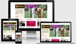 Pet Partners Responsive Website