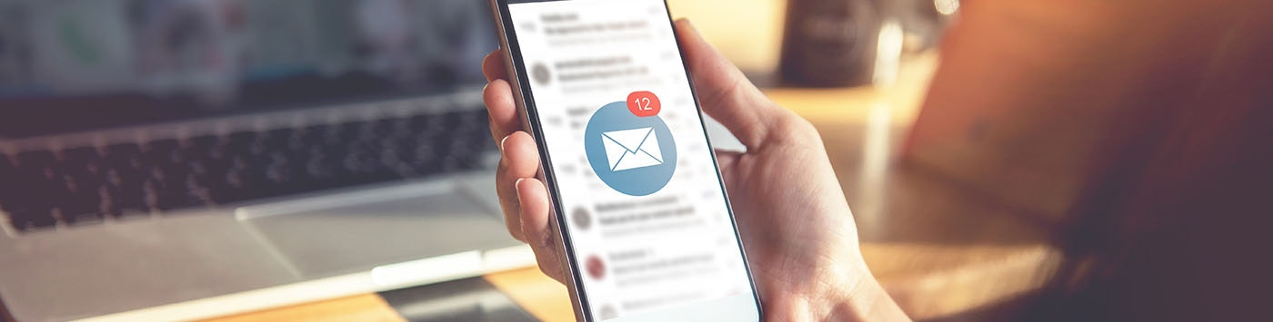 Inbox with Email Icon