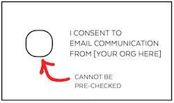 Consent Check Box
