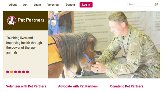 Pet Partners Homepage