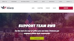 Team RWB Homepage