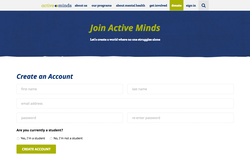 Active Minds Create an Account
