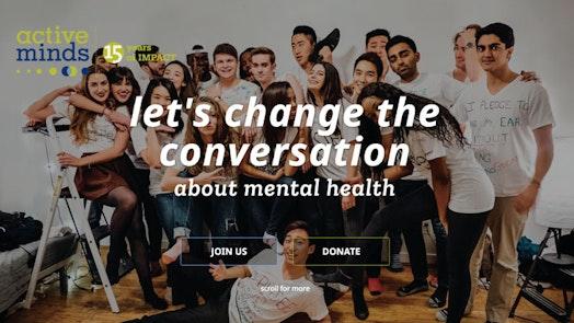 Active Minds Homepage