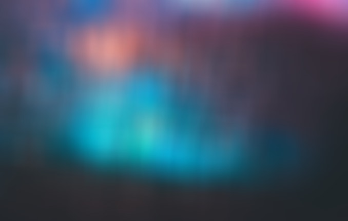 Blurry colorful image