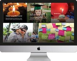 Huntsman Cancer Foundation Landing Page
