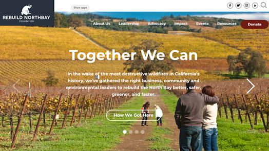 Rebuild Northbay Homepage