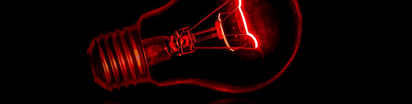 Red Lightbulb