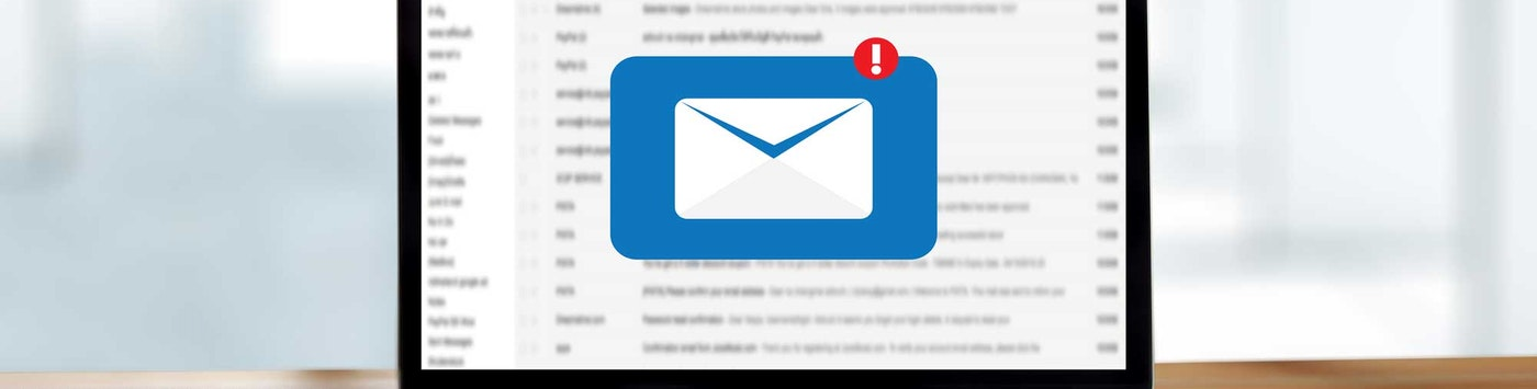 Email Icon on Computer