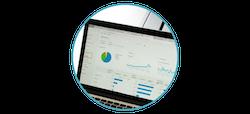 Google Analytics Dashboard with Data