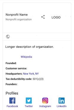 Search Schema Sidebar Results