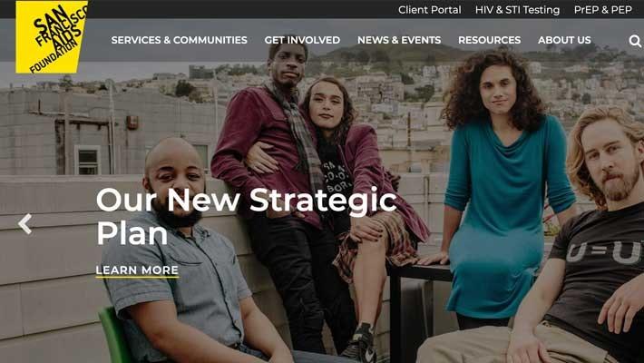 San Francisco AIDS Foundation Homepage