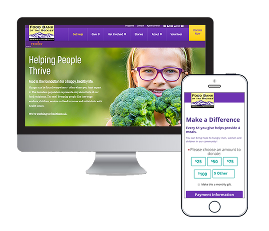 Food Bank of the Rockies Responsive Homepage