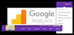 Food Bank of the Rockies Google Analytics