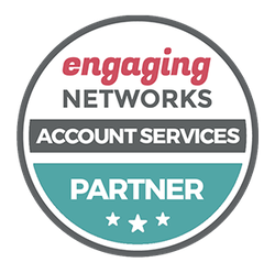 Engaging Networks Account Services Partner Badge