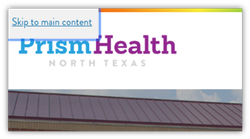 Prism Health North Texas Skip to Content Button