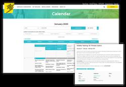 SFAF Calendar