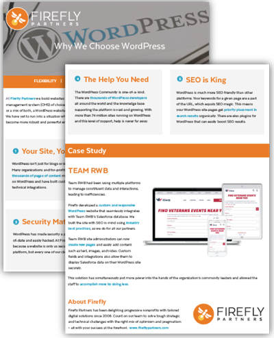 WordPress for Nonprofits
