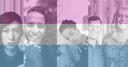 a diverse representation of transgender and gender non-confirming identities