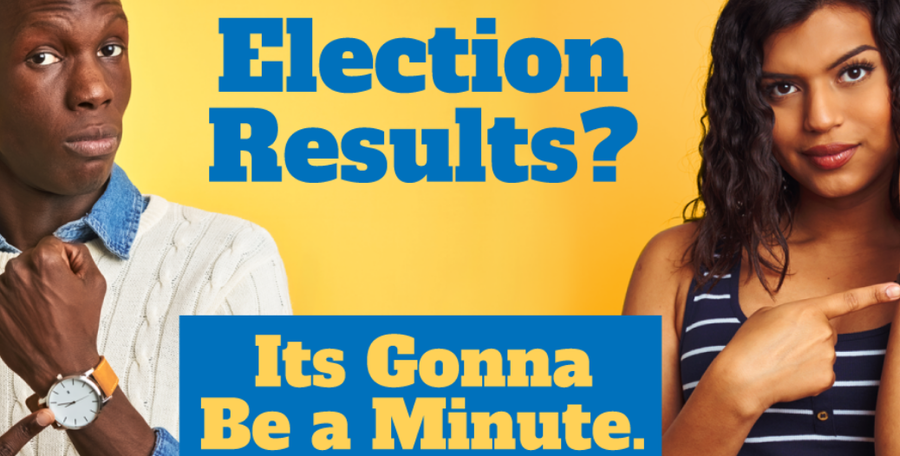 Election results? It's gonna be a minute.