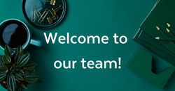 Welcome to our team social image