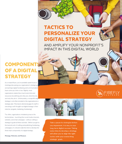 tactics to personalize digital strategy ebook cover