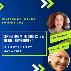 Jen and Michael speaking details for digital strategy summit