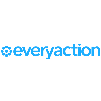 Every Action Logo in Light Blue